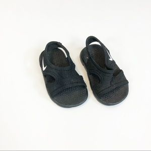 ad499d4347942c Shoes Poshmark Black Size Unisex Nike Infant 3 Sandals Hwq11UnS